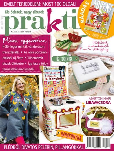 Praktika 2015 november címlap