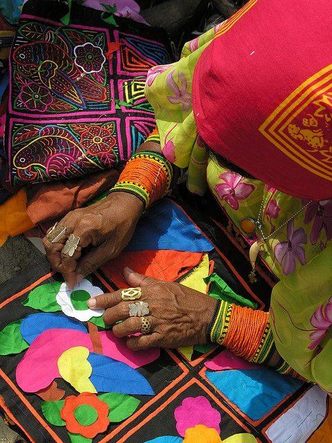 Két patchwork technika, amit az indiánoktól tanultunk