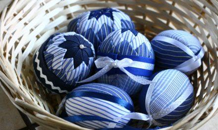 Aricsókás húsvéti tojás, újrahasznosítással