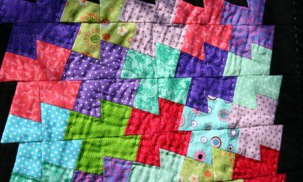 Filkk-flakk patchwork táska