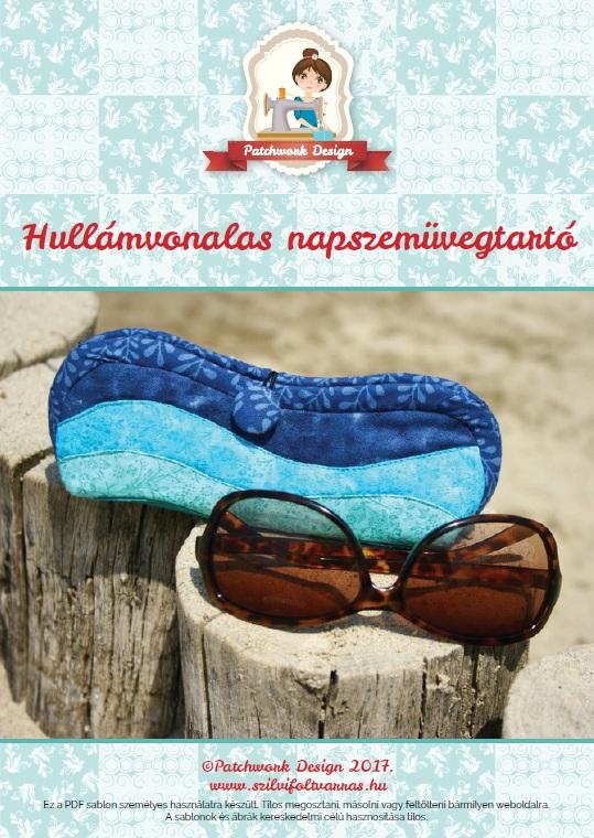 hullámintás pw szemüvegtok