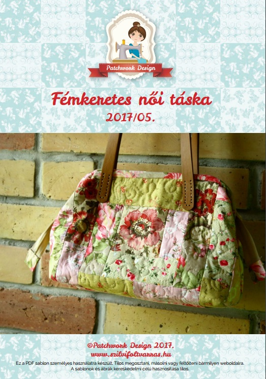 PD_rózsás női táska