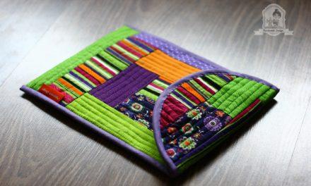 Csináld magad: patchwork Tablet tok