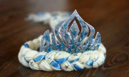 Elsa hercegnő jelmez készítése -kiegészítők