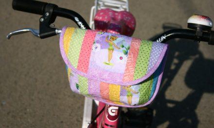 Így készíts gyerek biciklis táskát!