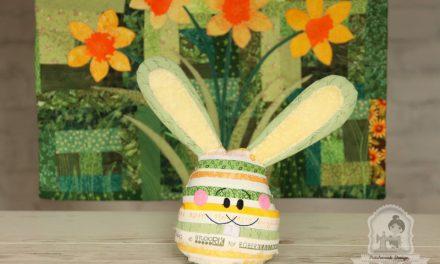 Húsvéti tojásnyuszi anyagszélekből