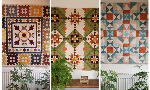 Új őszi patchwork minták