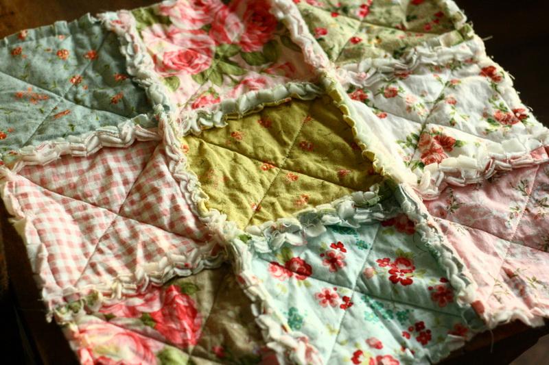 Rag quilt takaró készítése 1