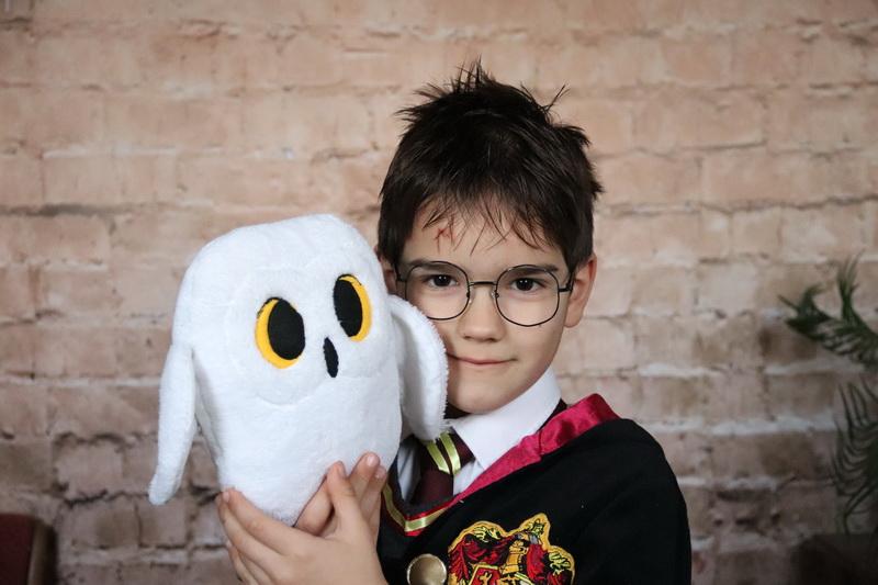 Harry Potter és Hedvig farsangi jelmez