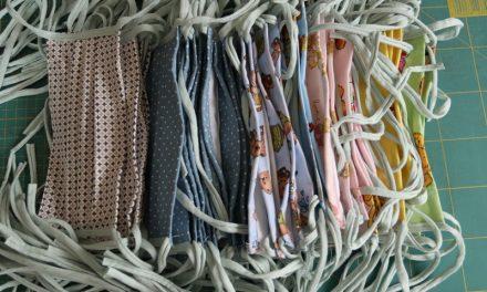 Így készítettem textil szájmaszkokat a Bethesda Gyermekkórháznak