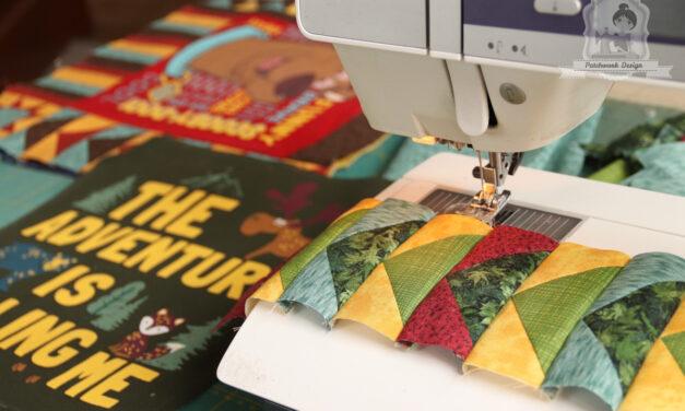 T-shirt quilt, avagy patchwork takaró kinőtt pólókból